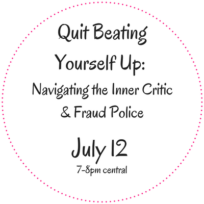 Quit Beating Yourself Up- (2)